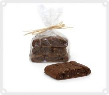 Choco Walnut Biscotti, 3 Stück